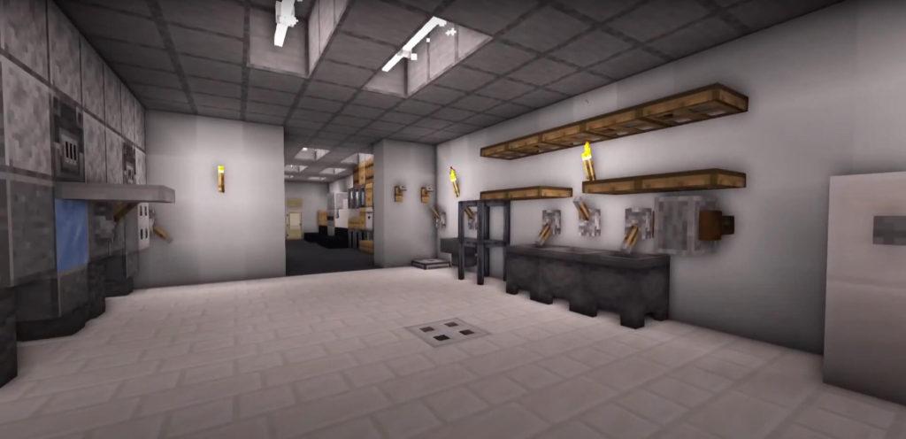 Minecraft cinema back shop