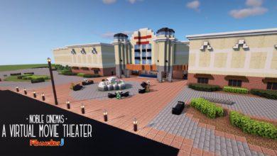 Photo of Build a Movie Cinema in Minecraft
