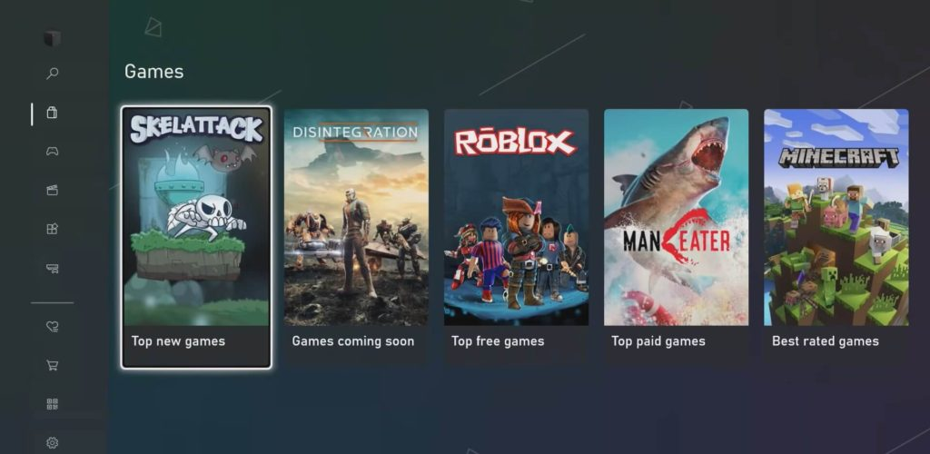 New Xbox Store is faster