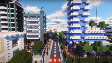 Photo of Live and Lounge in the Minecraft City of the Future