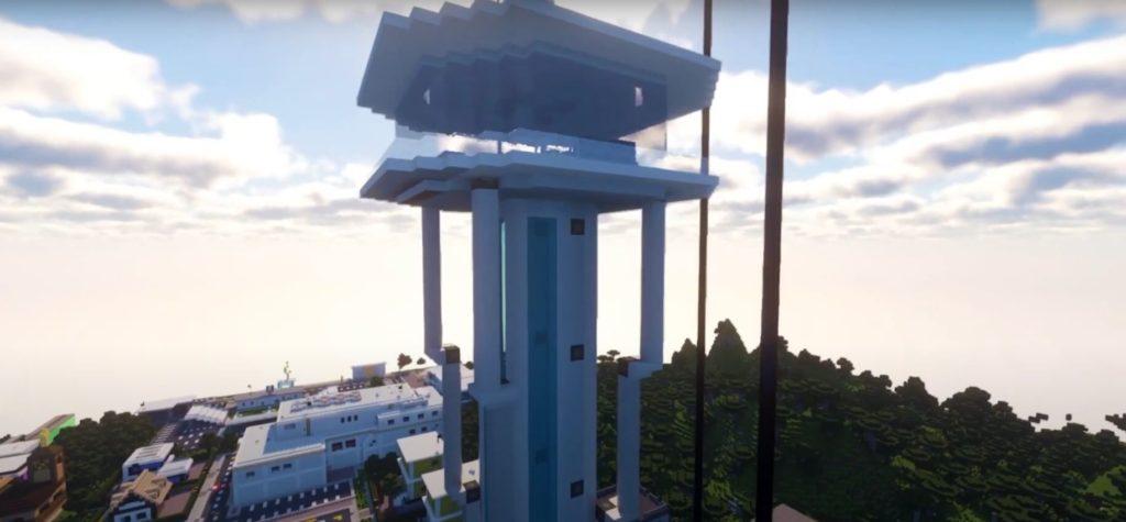 Minecraft City of the Future Skyscraper