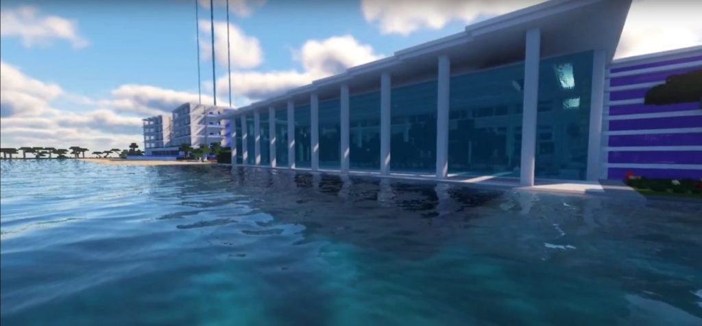Minecraft City of the Future Pool
