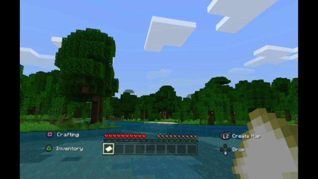Minecraft VR Living Room Mode
