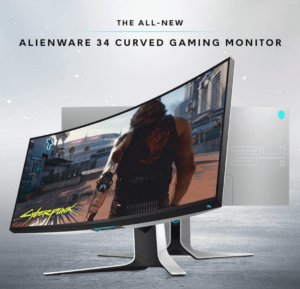 Alienware AW3420DW Curved 34in