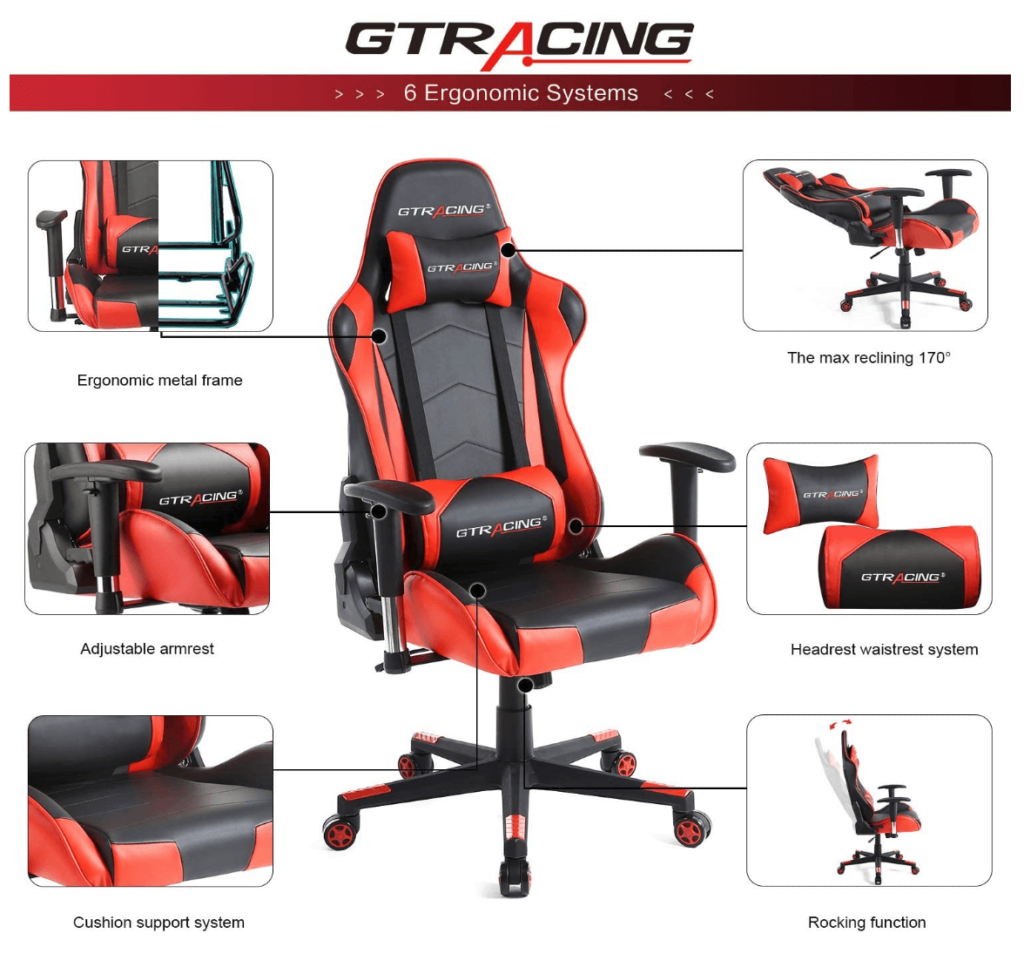 GTRACING Gaming Chair Racing