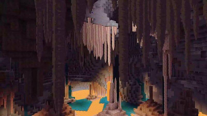 Minecraft Live 2020 Caves