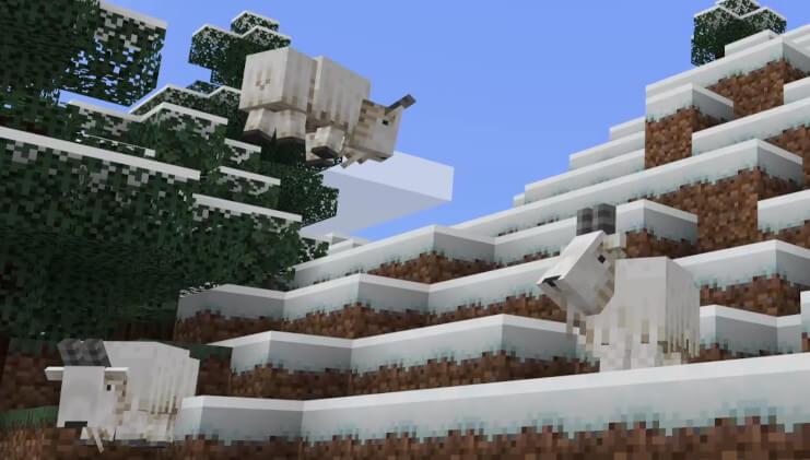 Cliffs Update Minecraft Live 2020