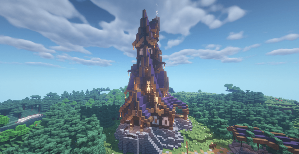 Medieval Mansion Build