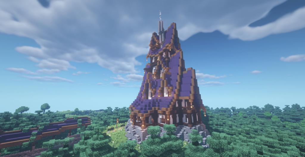 Medieval Mansion in Minecraft