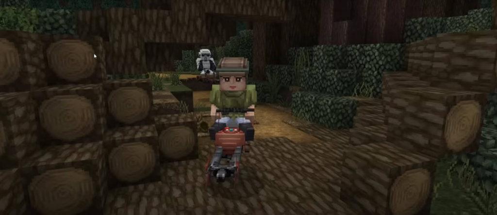 Minecraft's Star Wars DLC texture set