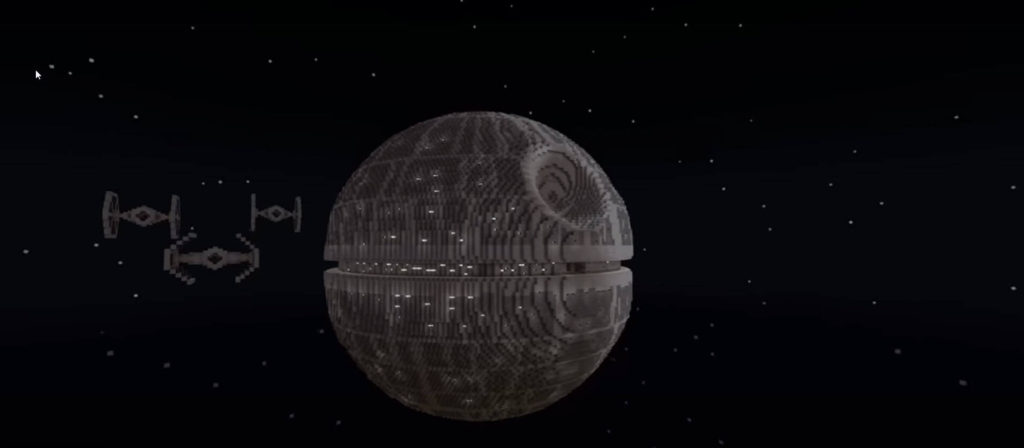 Minecraft's Star Wars DLC Galactic Setting