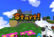 Photo of Platforming Action in Minecraft with Super Mario 16