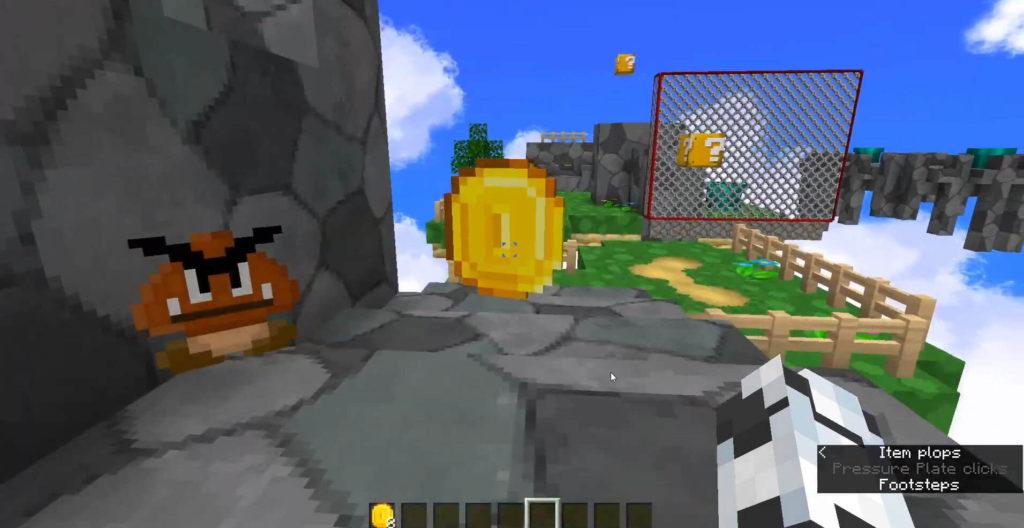 Super Mario 16 Minecraft