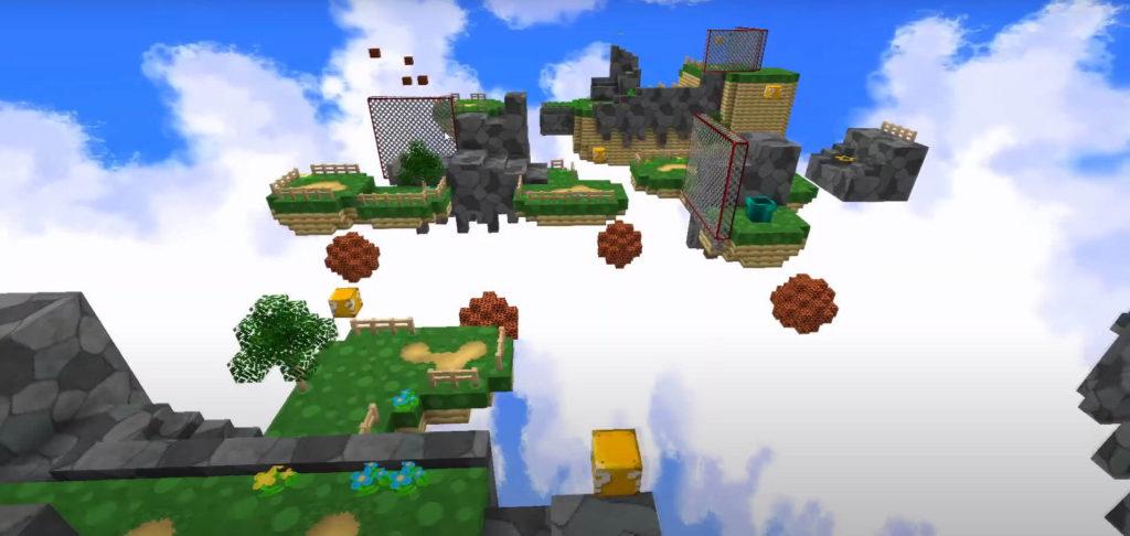 Super Mario 64 in Minecraft