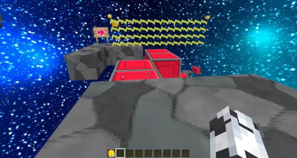 Mario Bros in Minecraft