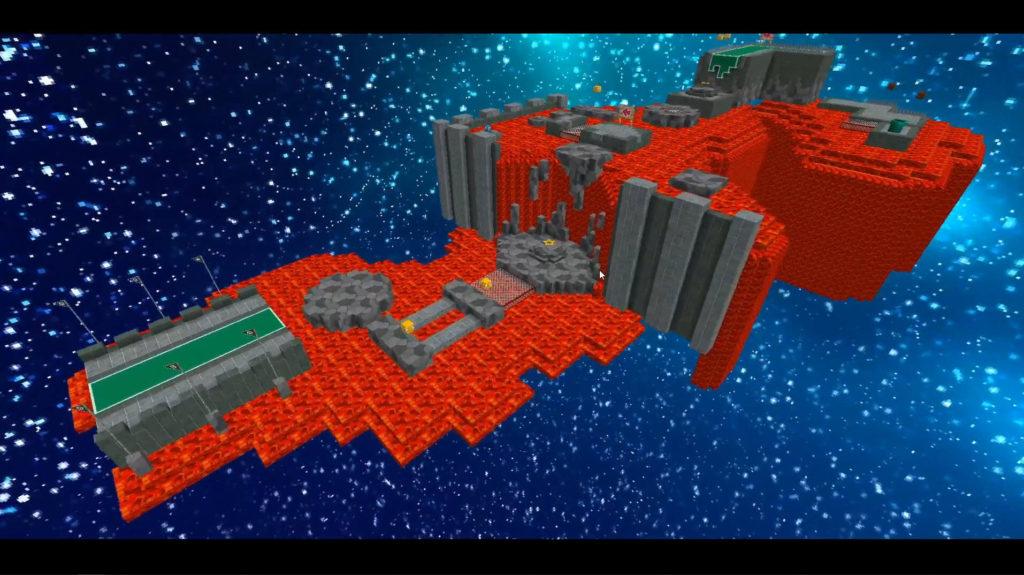 Super Mario 64 Minecraft Building