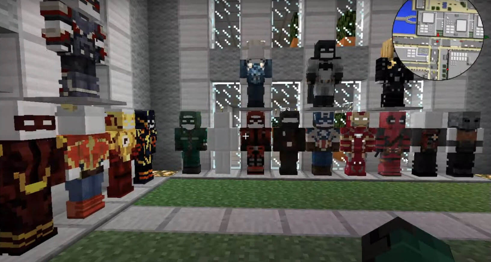 Minecraft Superhero Mod