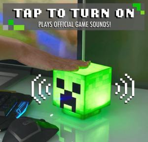 Minecraft Creeper Light Up Figure