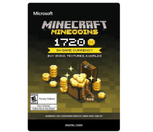 Minecraft Minecoin Giftcards
