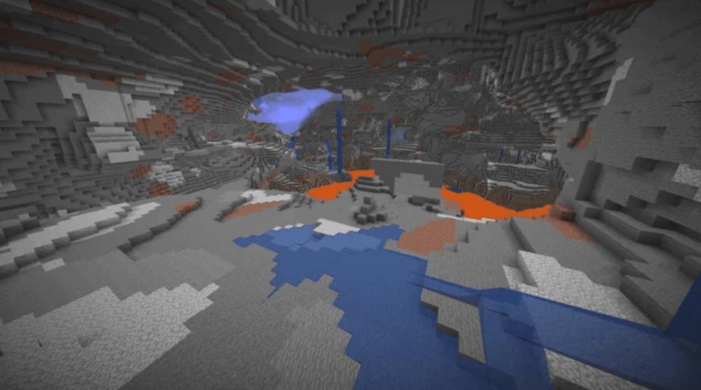 Minecraft Caves DataPack