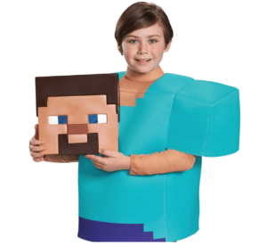 Steve Classic Minecraft Costume
