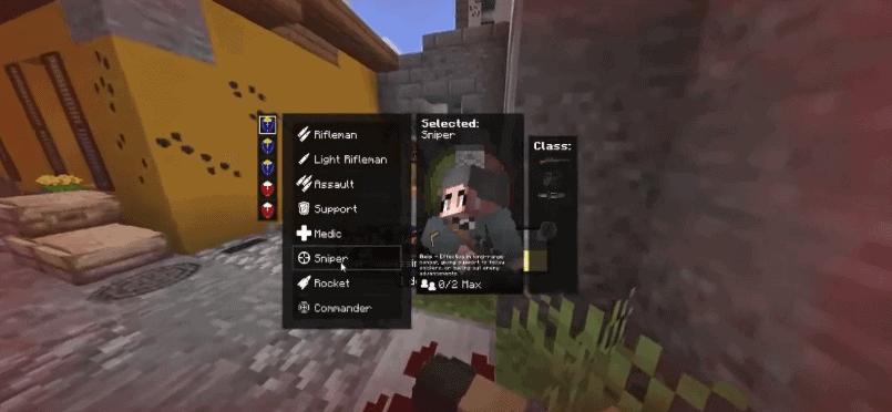 WW2 Minecraft mod weapons