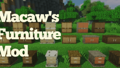 Photo of Macaw's Furniture Mod