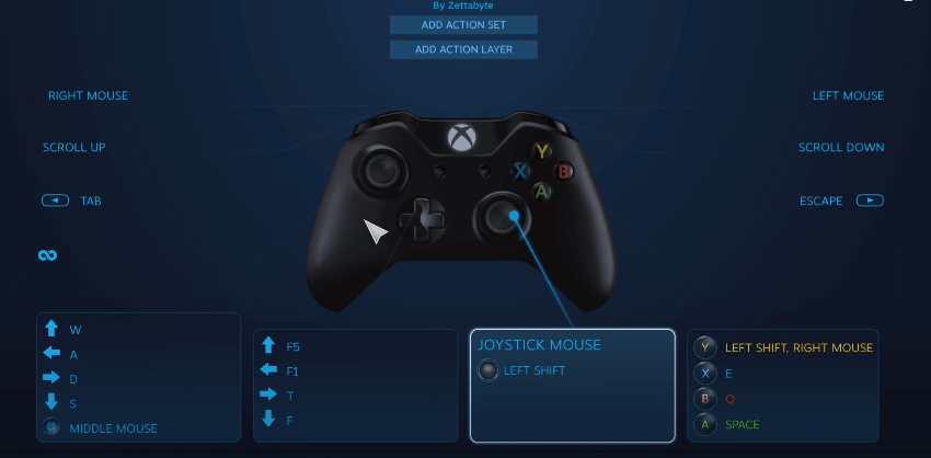Connect Controller Mapping