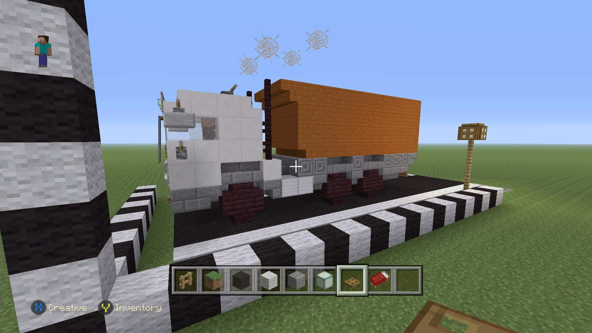 Build A Truck >> How To Build A Sand Truck Xbox One Minecraft Building Inc