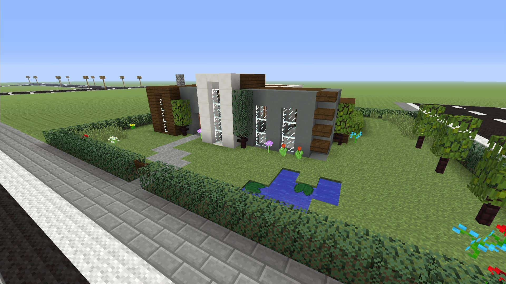 Minecraft How To Make A Simple Modern House Xbox One Minecraft Building Inc