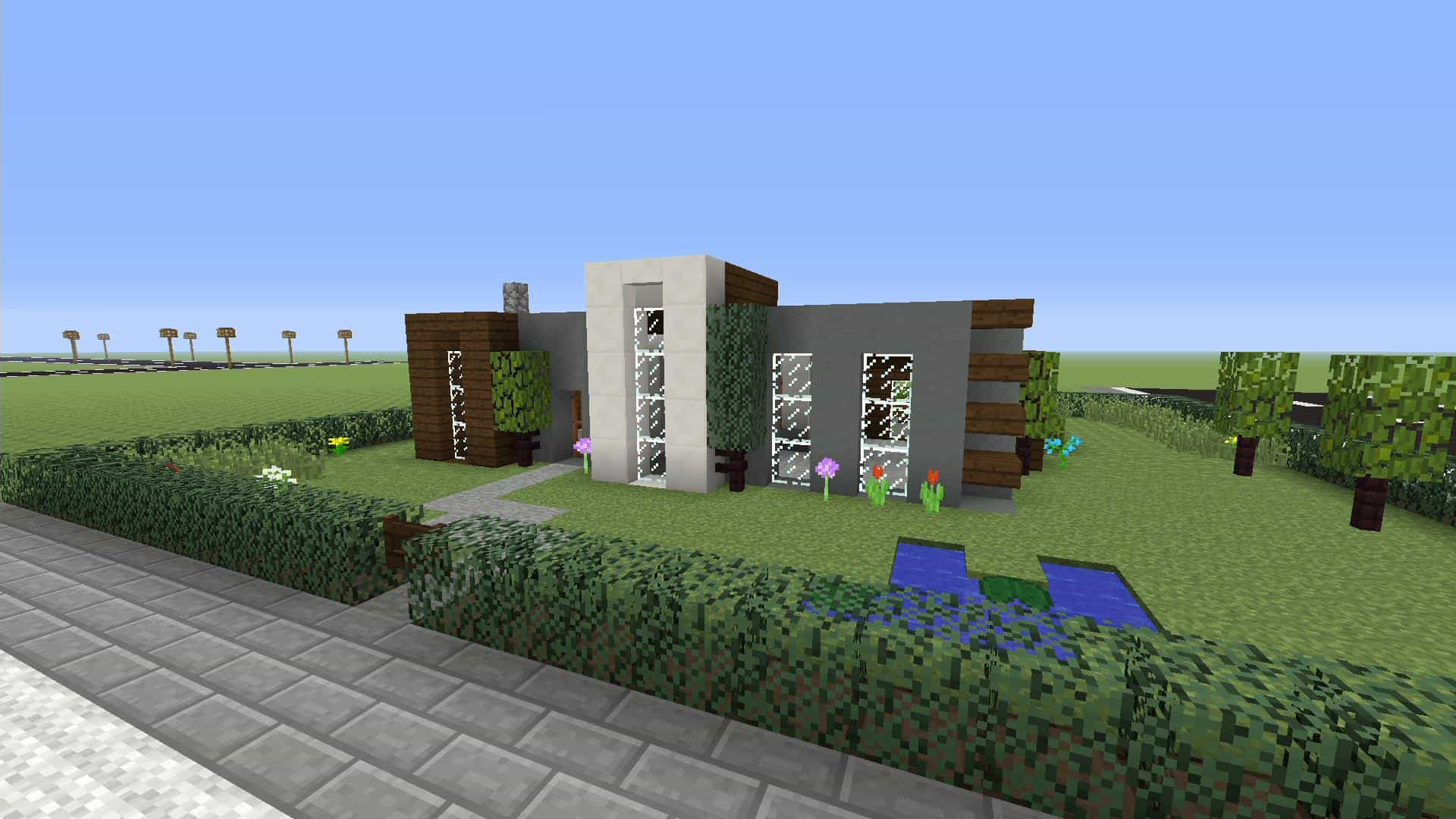 Minecraft how to make a simple modern house xbox one for How to build a modern home