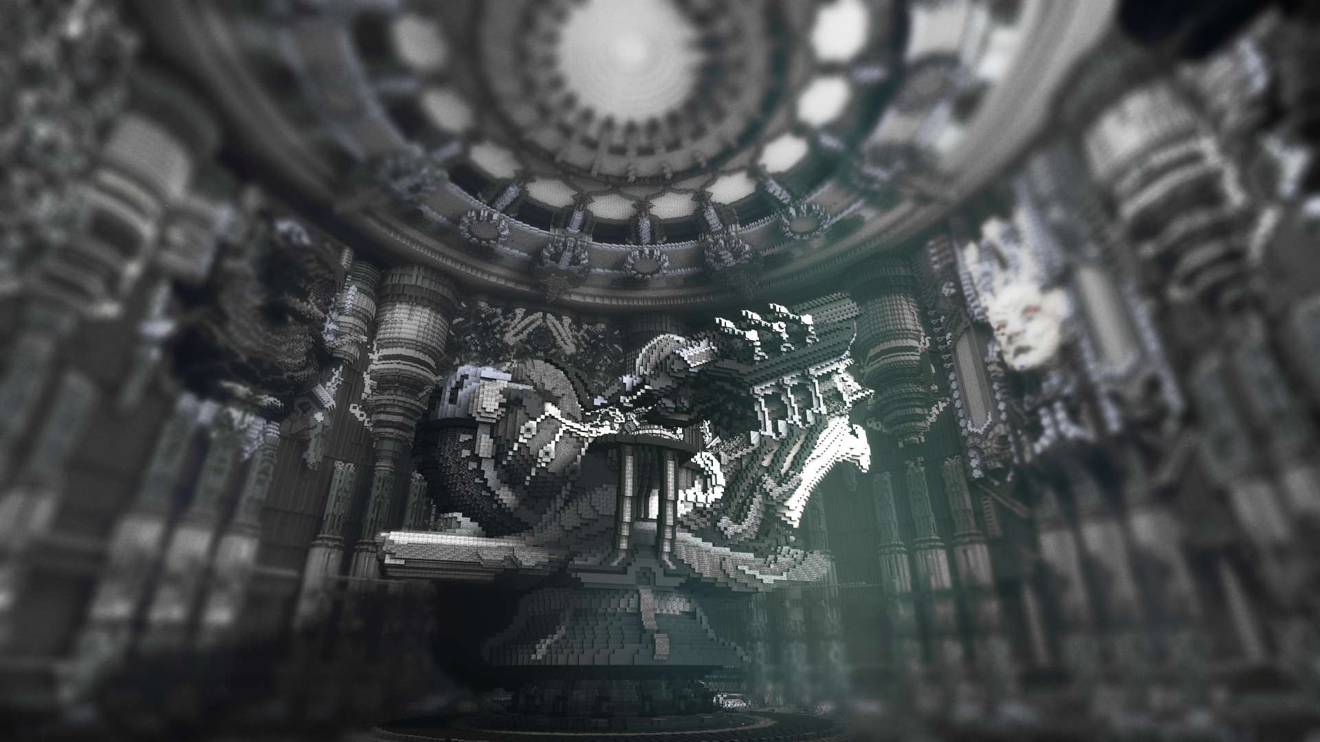 Prometheus – A Tribute to H.R. Giger – Minecraft Building Inc H.r. Giger Prometheus