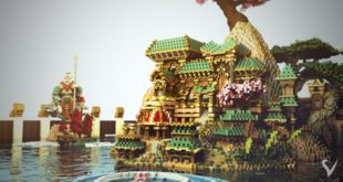 akira-rakani-minecraft-build-water-pond-beautiful-amazing