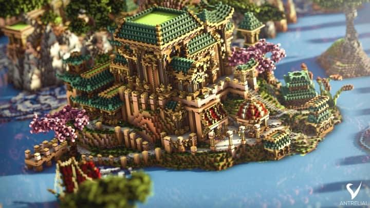 akira-rakani-minecraft-build-water-pond-beautiful-amazing-7
