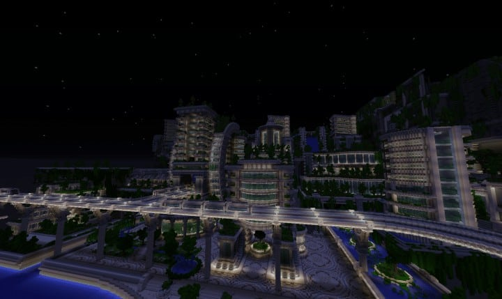 Banghai City and The Palace of Leng Minecraft Building Ideas download chineese city amazing complete save 12