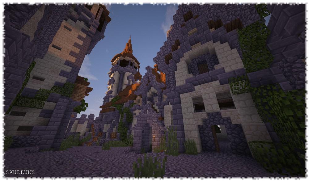 Minecraft Timlapse Speed Build Epic Castle Tellur
