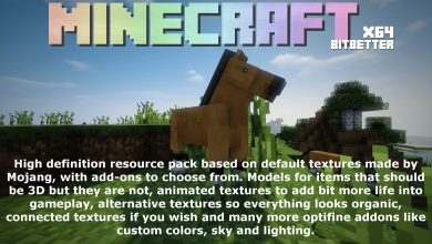 Photo of BitBetter 64×64 Resource Pack