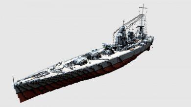 Photo of Brittish Battleship HMS Rodney 1:1 (1941)