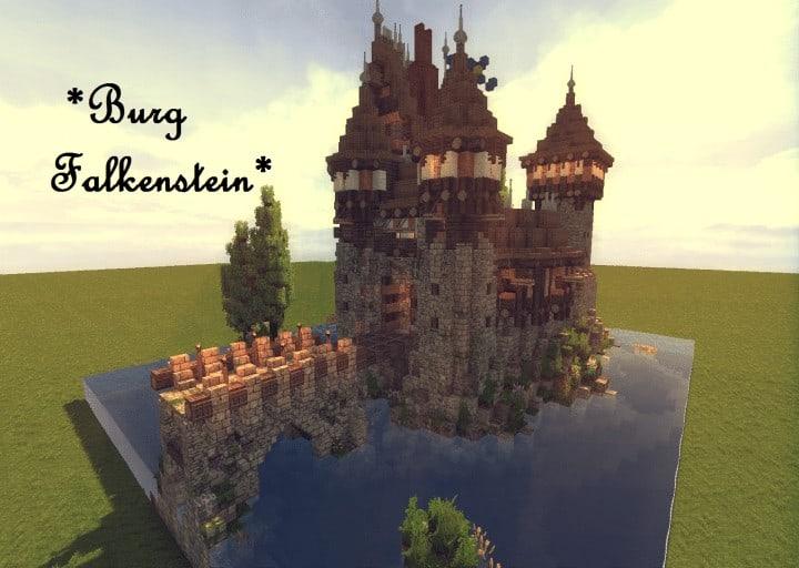 Castle Falkenstein Minecraft Building Inc