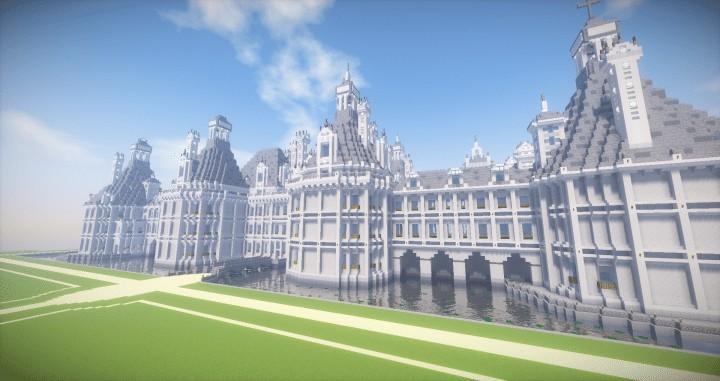Ch teau de chambord castle of chambord minecraft - Chateau de minecraft ...