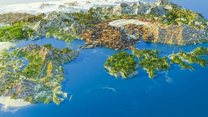 Dragon Ball Z Earth 4k Map Minecraft Building Inc