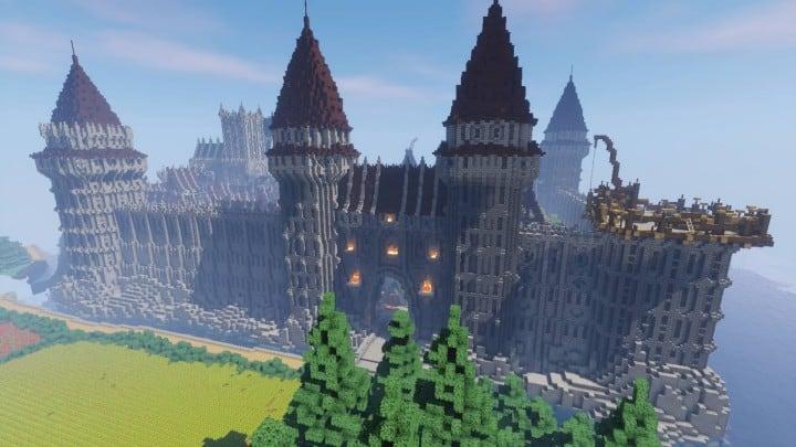 Minecraft Roof Design Ideas