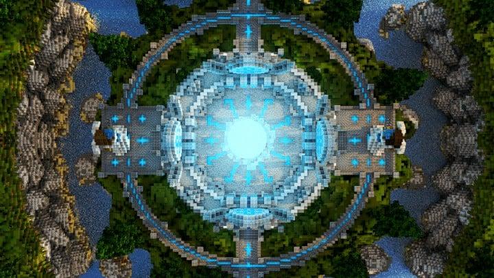 Fantasy Angels Arch Minecraft Building Inc