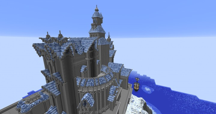 Fryst Fortress Minecraft Building Inc