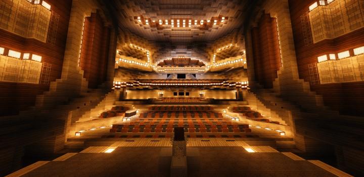 harbin grand theater  u2013 minecraft building inc