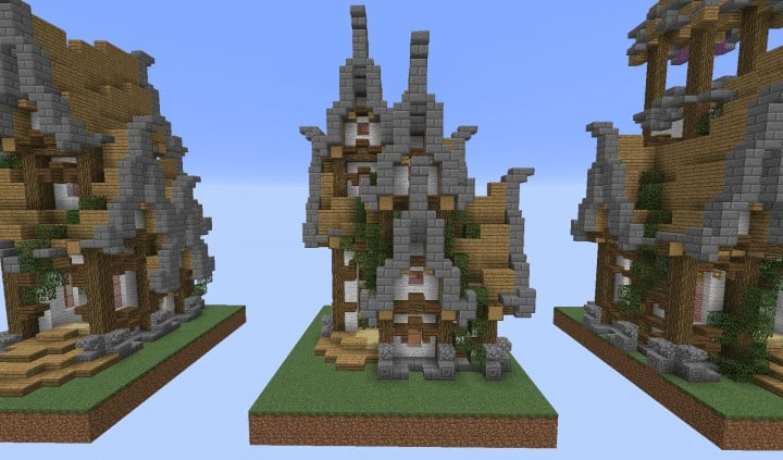 House Bundle Fourteen Plot Minecraft Building Inc