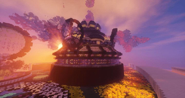 Isolated World Minecraft Save by iamElo Download application fantasy creative amazing beautiful 10