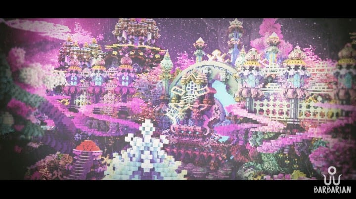 Isolated World Minecraft Save by iamElo Download application fantasy creative amazing beautiful 5