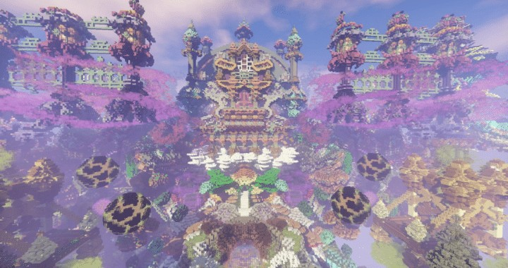 Isolated World Minecraft Save by iamElo Download application fantasy creative amazing beautiful 7