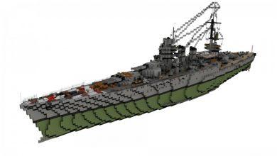 Photo of Italian Battleship Giulio Cesare 1:1